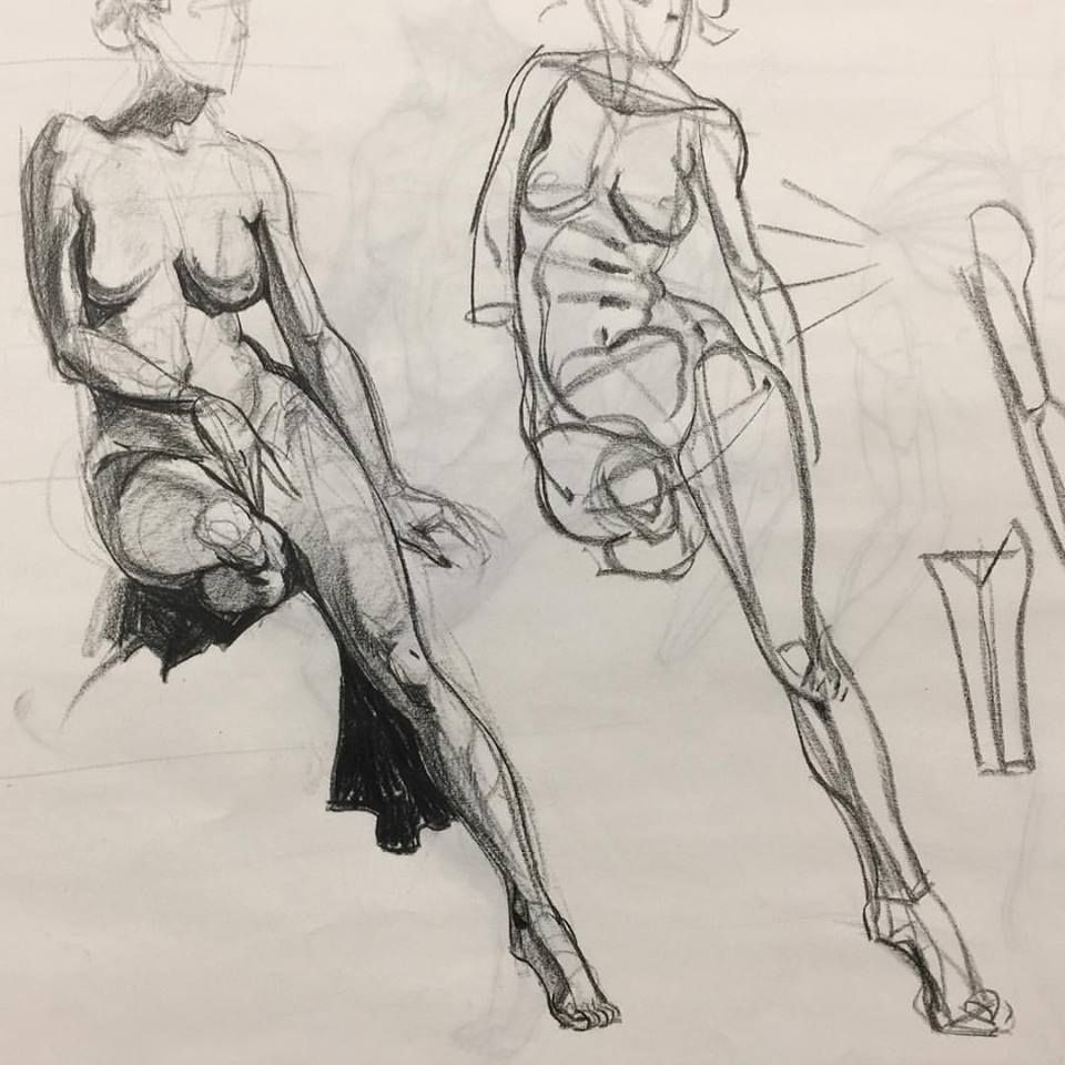 Pin by Chance on Figure drawing in 2019   Pencil drawings, Figure