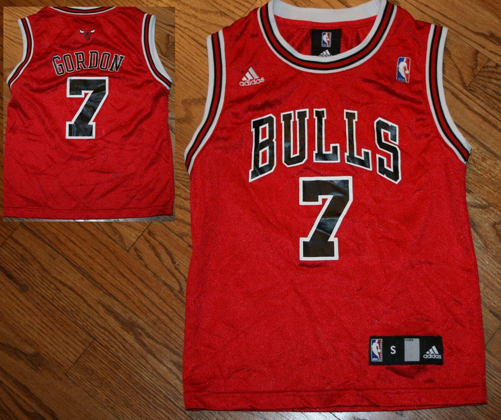 meet e2526 ba2cb Chicago Bulls Ben Gordon red Adidas NBA basketball Jersey ...