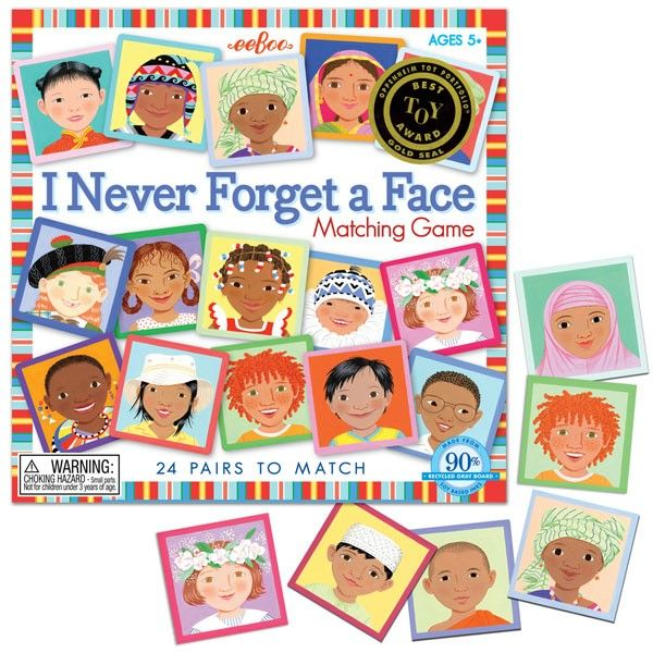Recognize, memorize and match 24 pairs of kids faces from all over the  world… | Memory match game, Card games for kids, Memory games