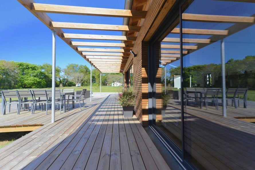 landes#maison#bois#woodhome#moderne#bardageclairevoie#douglas ...