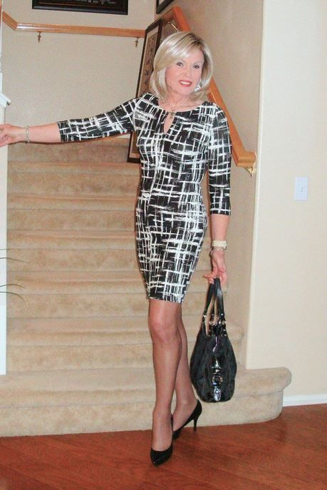 Blonde mature is very hot