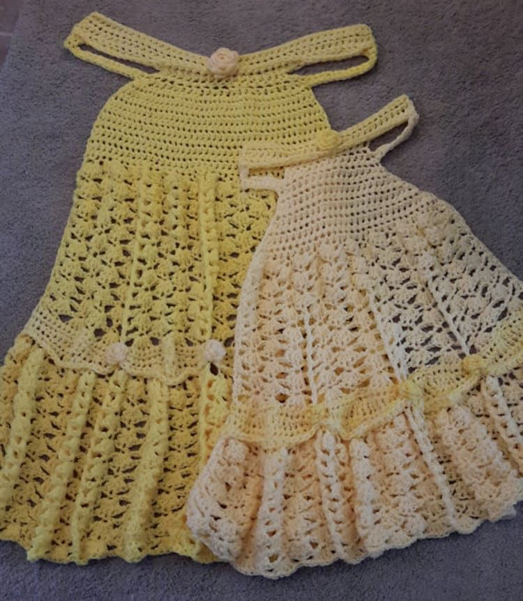 Crochet Dress Blankets Magically Transform Anyone Under Them into a ...