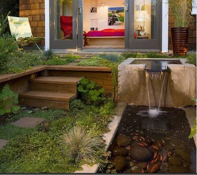 resultado de imagen para planos de jardines modernos