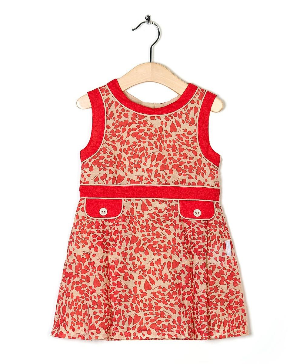 Red Amore Dress - Toddler & Girls