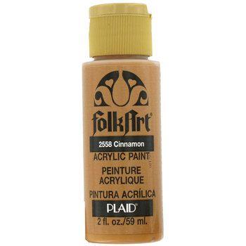Cinnamon Red 2 ounces FolkArt Acrylic Paint