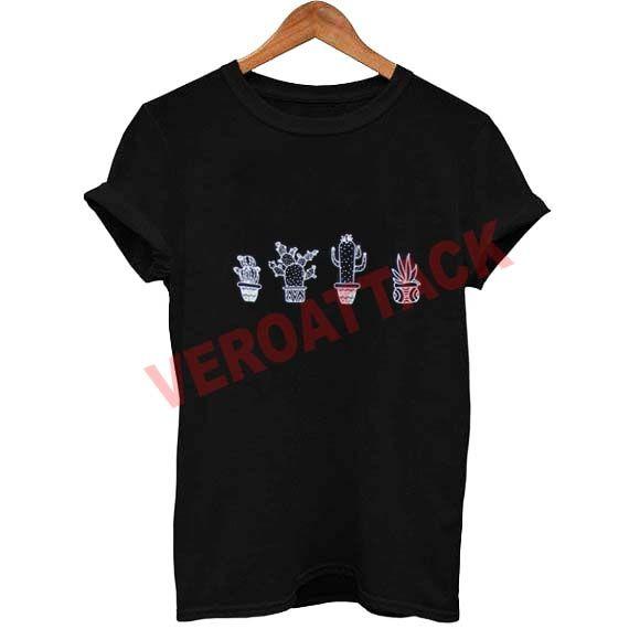 cactus collage T Shirt Size XS,S,M,L,XL,2XL,3XL
