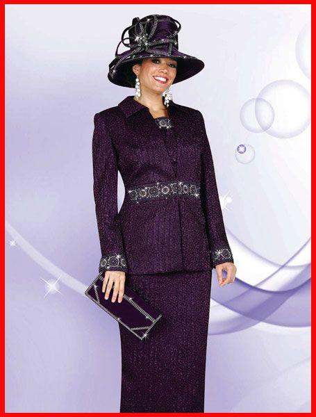 0ed5c0130d3 Purple Church Suits