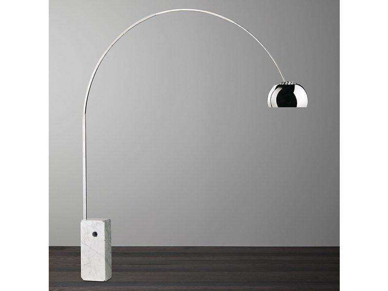 Arco Flos lampada da terra design Achille Castiglioni