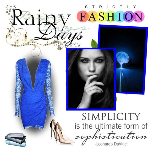 """""""Rainy Days"""" by simona-999 ❤ liked on Polyvore featuring Posh Girl and Gianvito Rossi"""