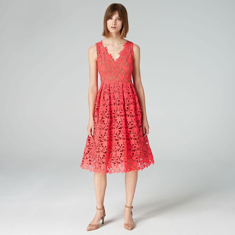 cocktailkleid aus spitze - summer crush - inspiration