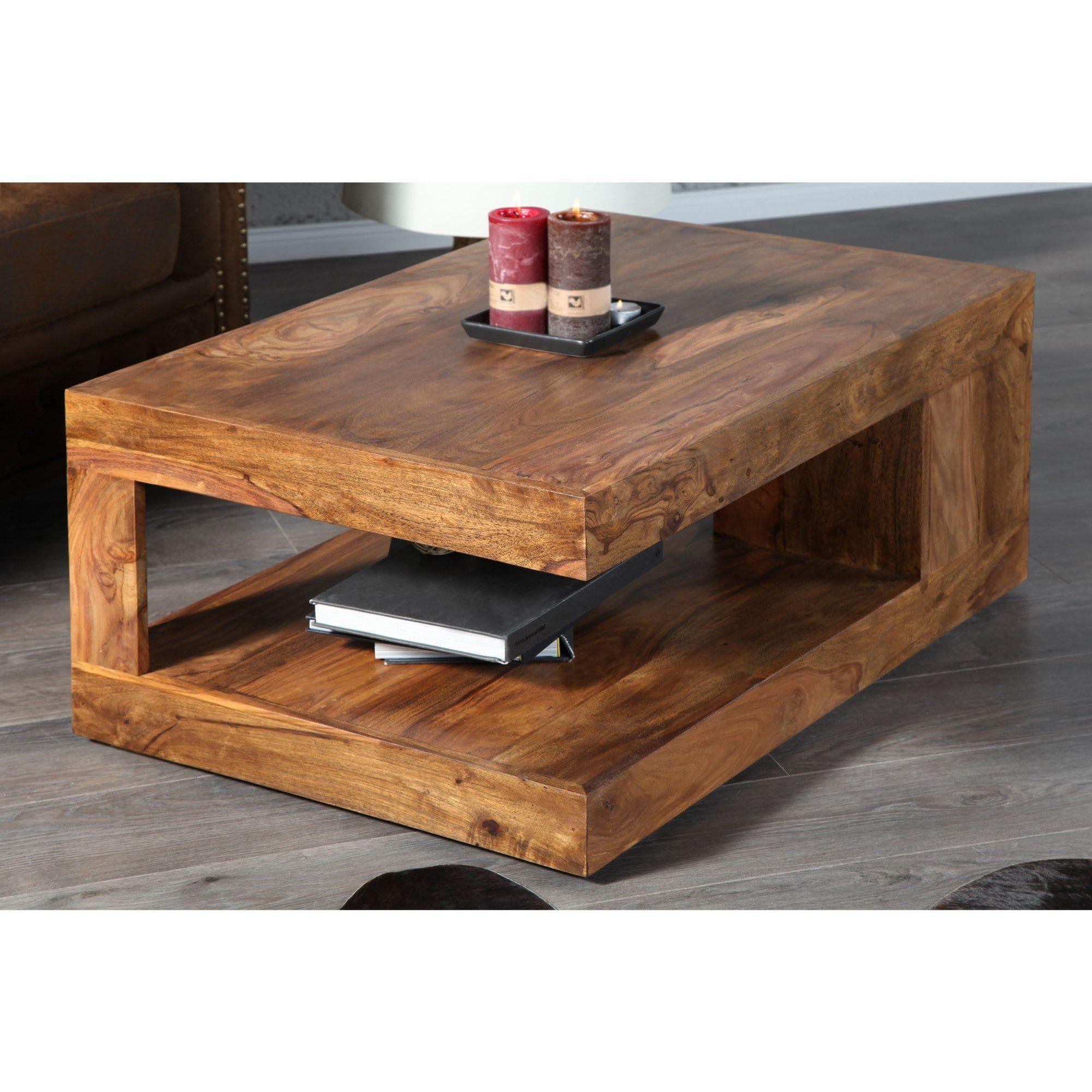 Table Basse Rectangle Bois Massif Comforium Com Table De Salon Table Basse Design Bois Table Basse