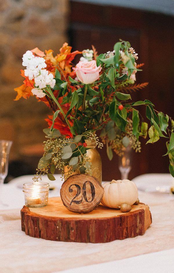 Our Favourite Squash Gourd And Pumpkin Wedding Centrepieces