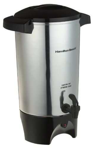 Hamilton Beach 45 Cup Coffee Urn And Hot Beverage Dispenser Silver 40515r Coffee Urn Hot Beverage Dispenser Coffee Maker