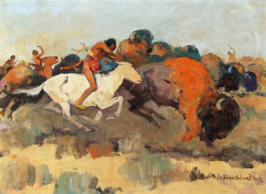 Laverne Nelson Black,  Buffalo Hunt