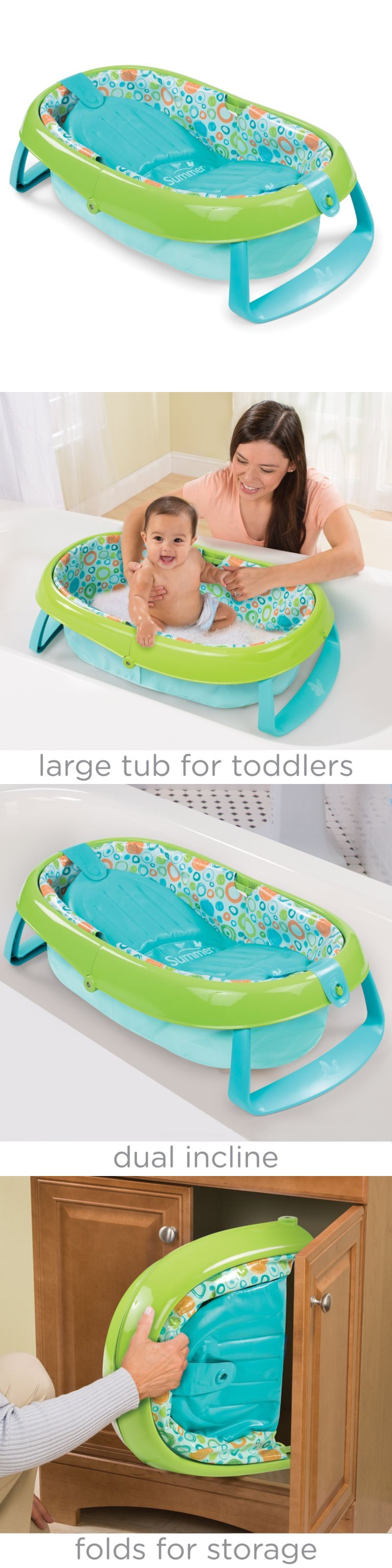 Infant Baby Bath Tub Ring Safety Seat Anti Slip Keter Plastic Chair ...