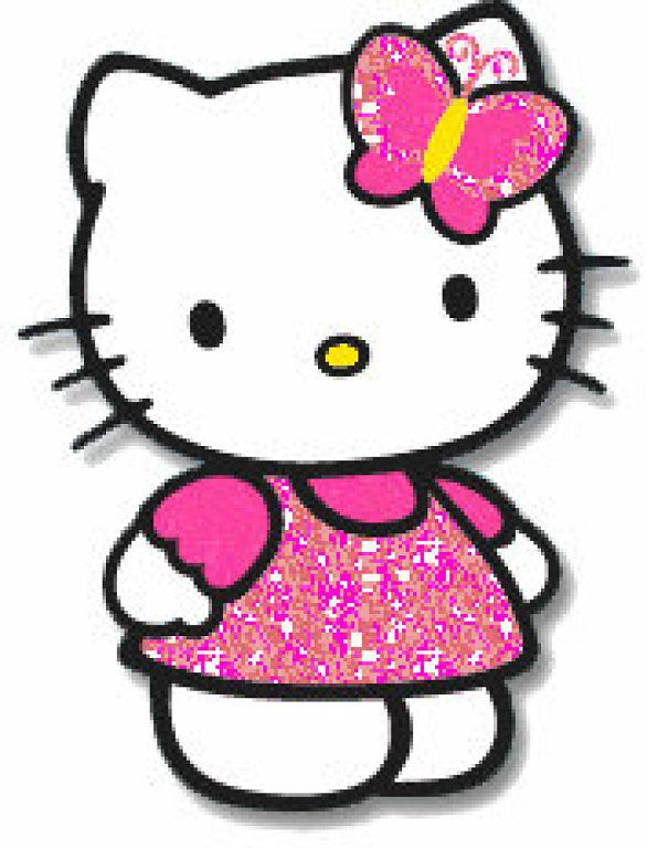 mis laminas para decoupage hello kitty kitty and clip art rh pinterest com au hello kitty clipart images hello kitty clipart cheerleader