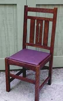 Harvey Ellis Dining Chair Dining Chairs Craftsman Style