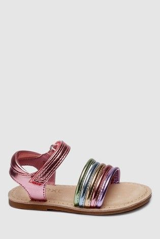 059abddb5f0 Pink Strappy Sandals (Younger)