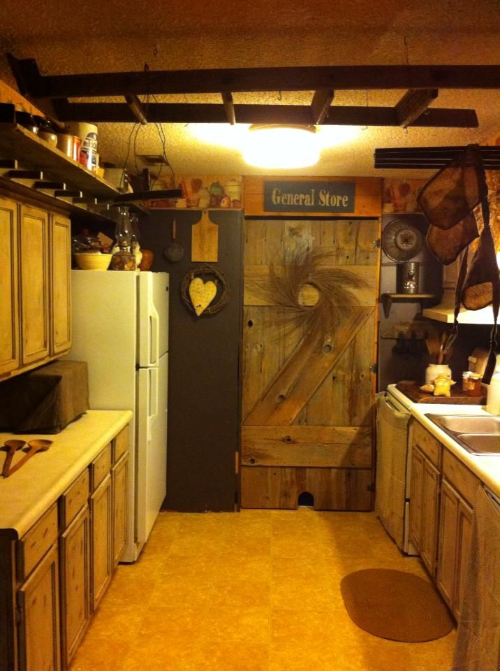 My Small Primitive Kitchen