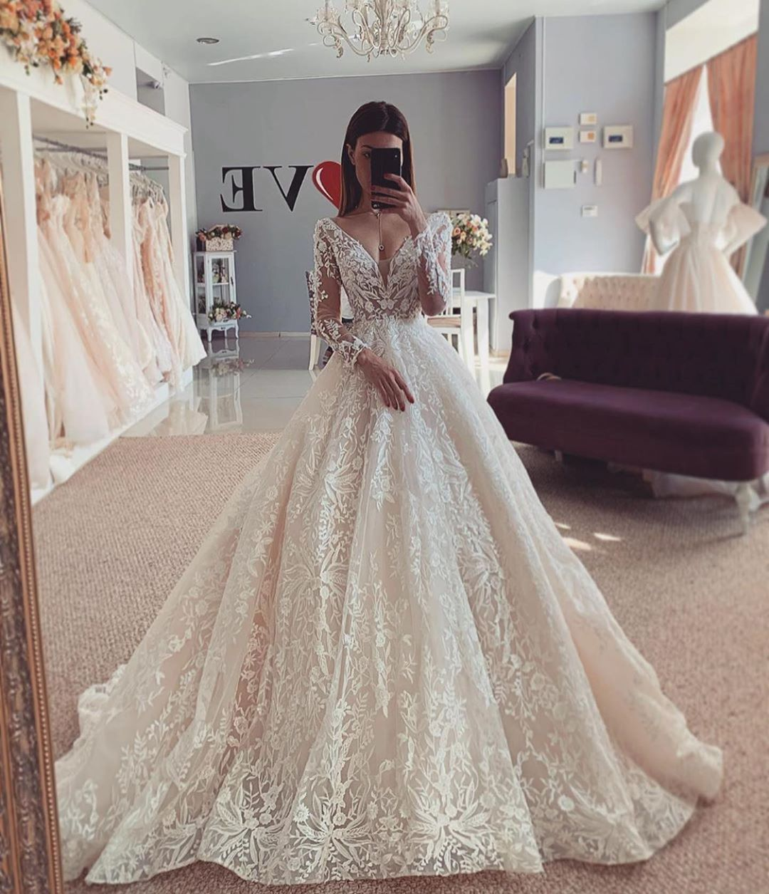 Just Wedding Bells On Instagram Which One 1 2 3 4 Or 5 Dresses By Salonlove1 Ball Gowns Wedding Online Wedding Dress Gorgeous Wedding Dress [ 1255 x 1080 Pixel ]