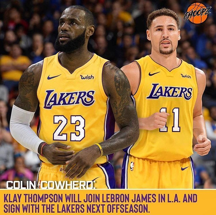 good service free delivery detailed images U think Klay will leave the Warriors to join LeBron in LA next ...