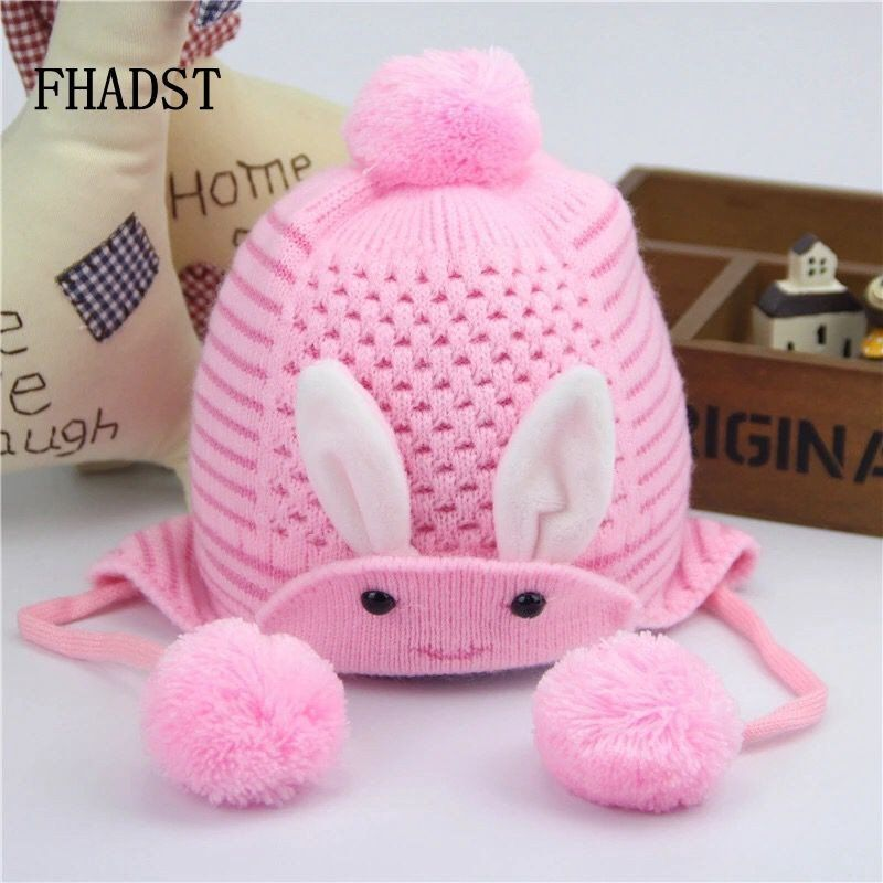 958bc0e6f80f 2016 Fashion Brand Winter Autumn Knitted Newborn Crochet Baby Hat ...