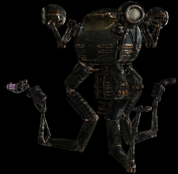 Mister Gutsy Fallout Concept Art Fallout Robots Concept