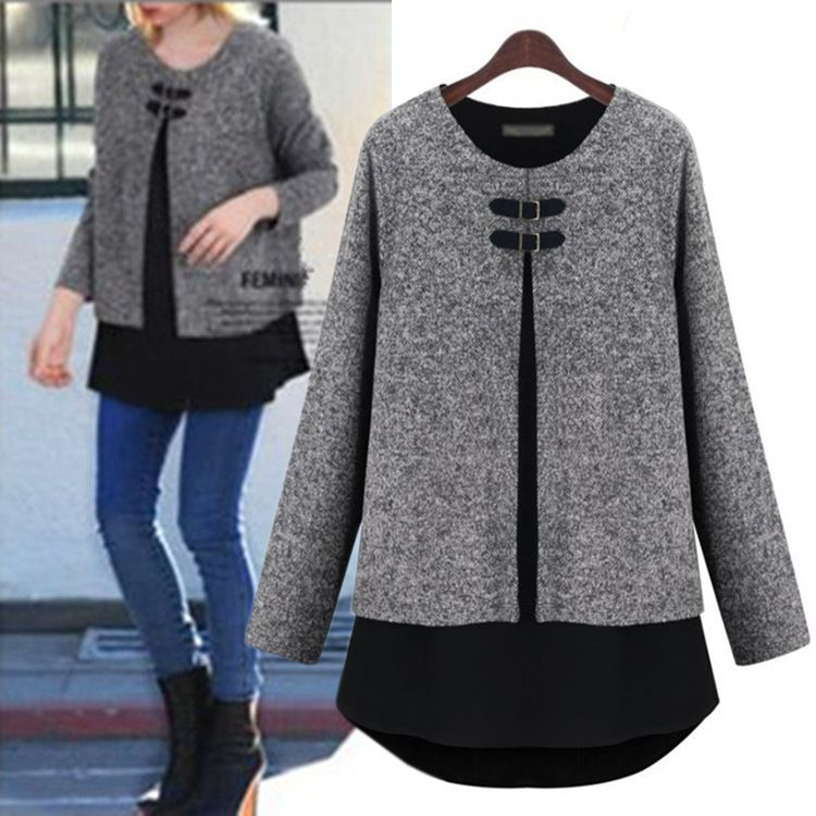 >> Click to Buy << 2017 new Winter & Spring Pregnant women jacket winter clothes large size Korean fashion sweater coat maternity woolen coat shirt #Affiliate
