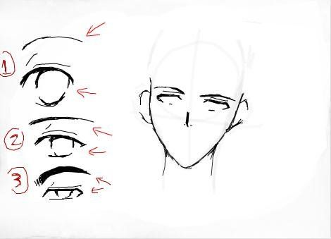 No Trouble Advices How To Draw Guy Eyes How To Draw Anime Male Eyes Step 12 In 2020 Manga Drawing Tutorials Guy Drawing Cartoon Drawings