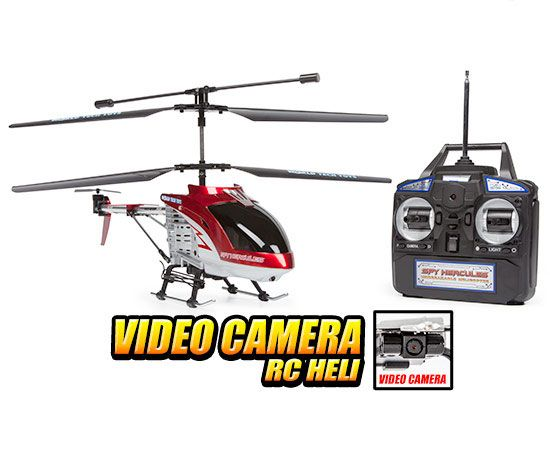 Spy Hercules Camera Unbreakable 3.5CH RC Helicopter | rc ...