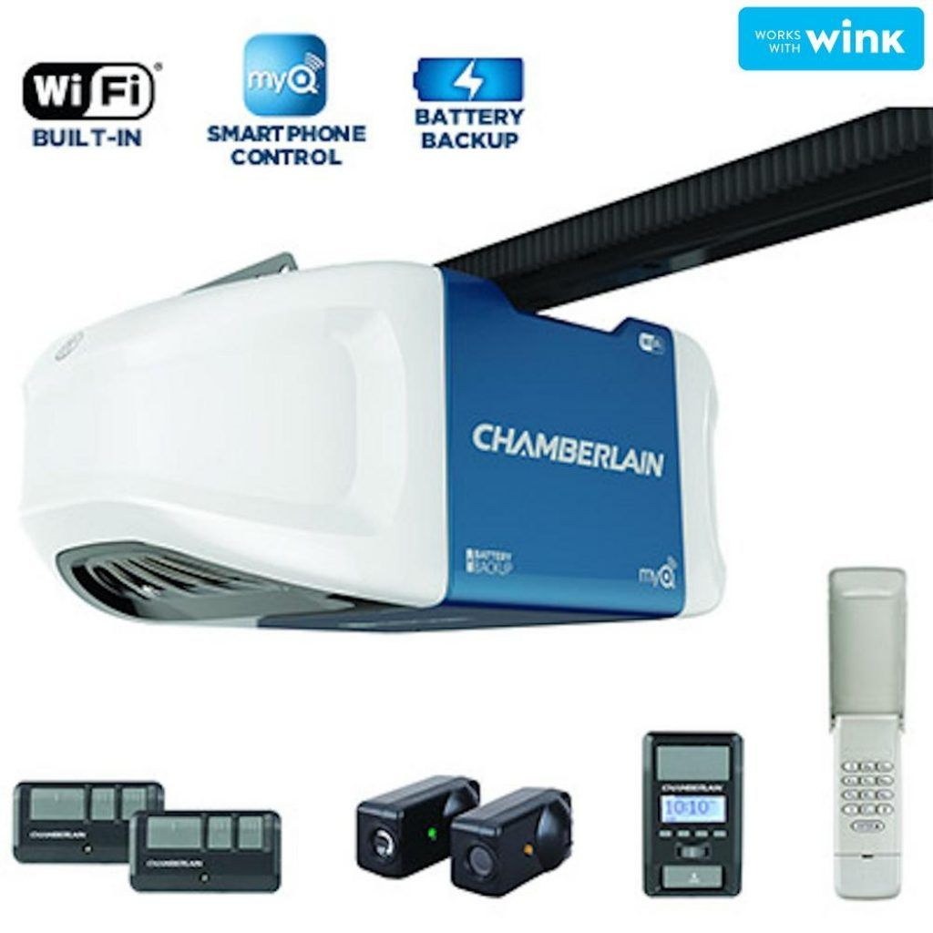 Chamberlain Garage Door Opener Smartthings voteno