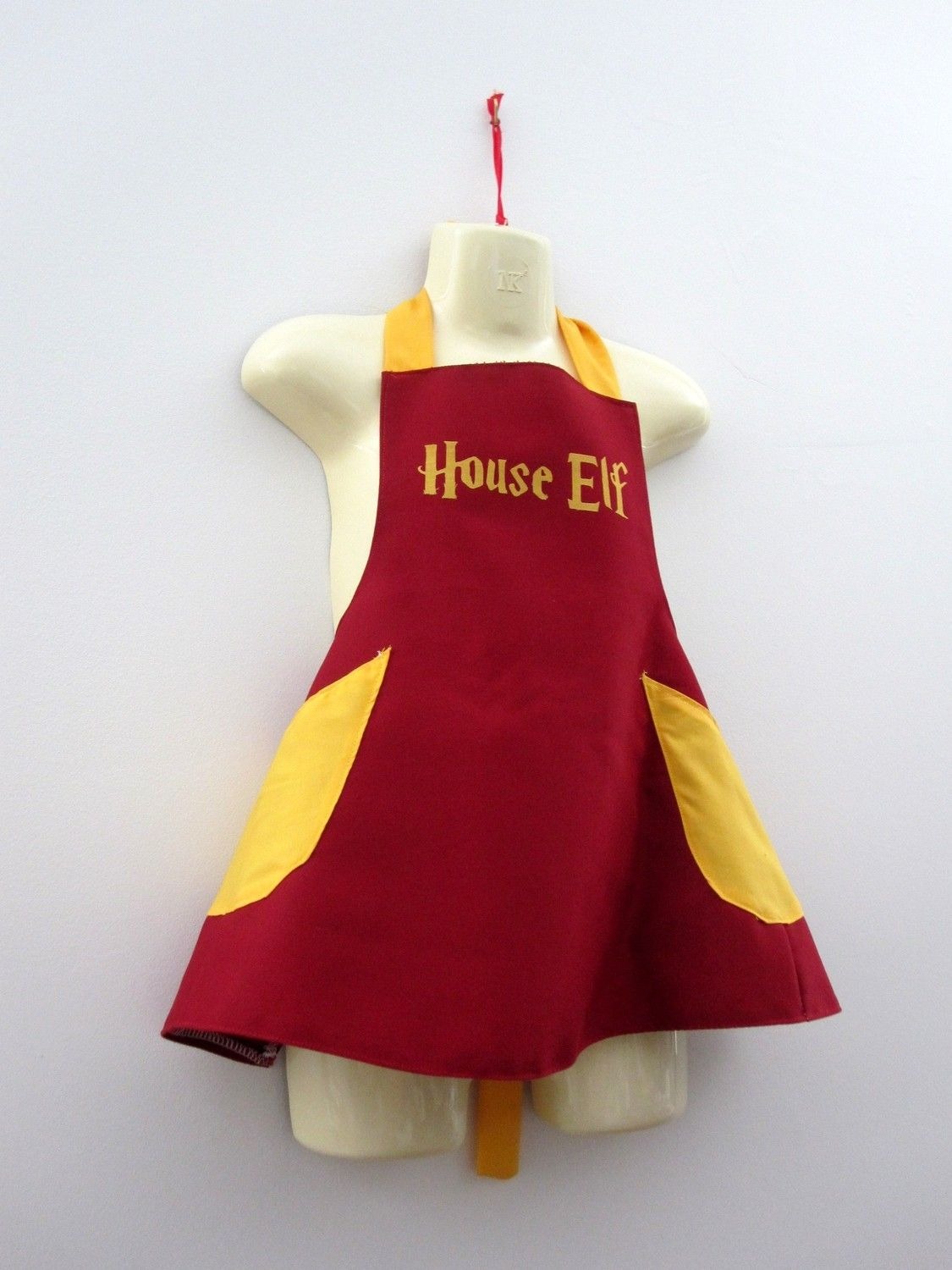 White apron meaning - House Elf Apron Costume Child Harry Potter