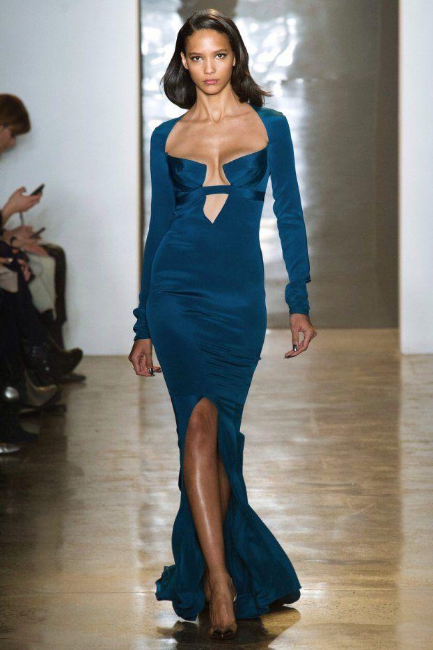 Magnifique robe bleu canard