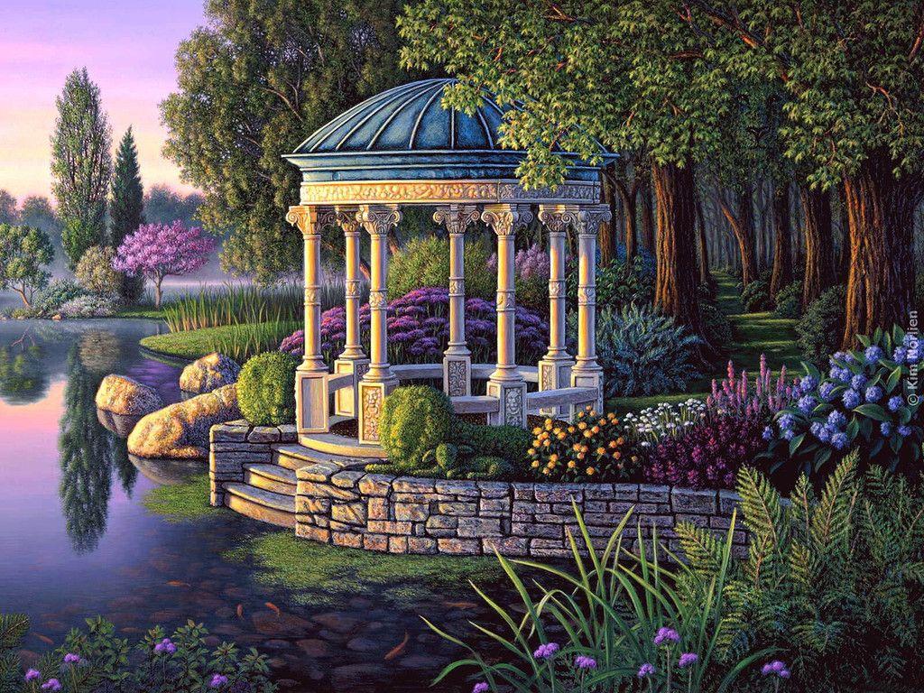 пейзаж в картинках садов менее чем