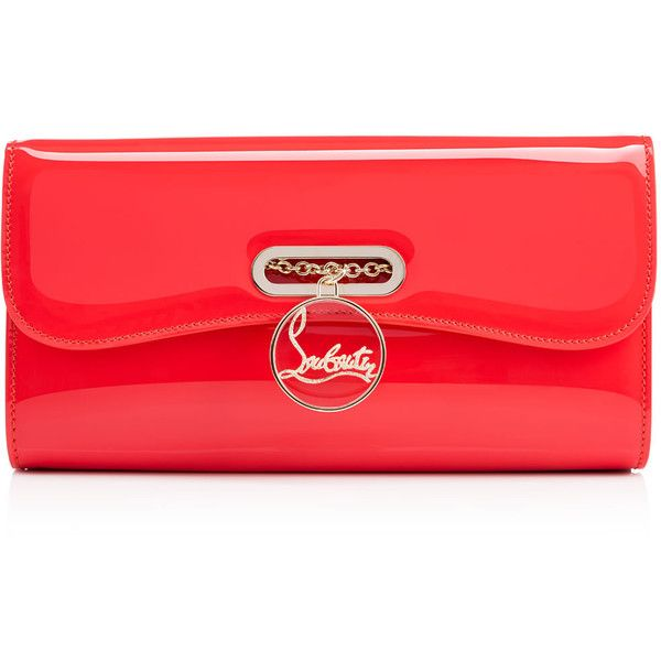 Christian Louboutin Riviera Clutch (€1.000) ❤ liked on Polyvore