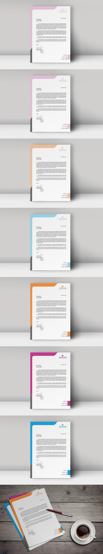 Letterhead Template Letterhead template, Presentation