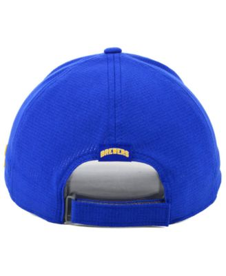 459f222a761c1 Under Armour Milwaukee Brewers Driver Cap - Blue Adjustable
