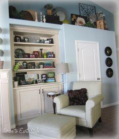 image result for decorate master bedroom soffit alcove plant ledge