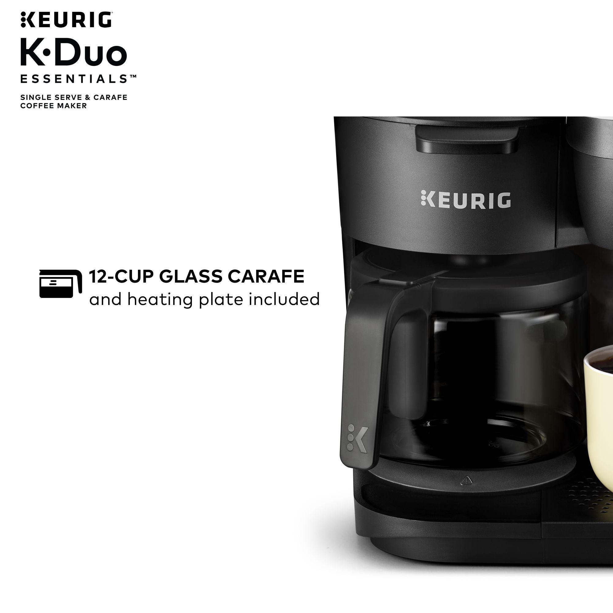 Keurig KDuo Essentials Coffee Maker, with Single Serve K