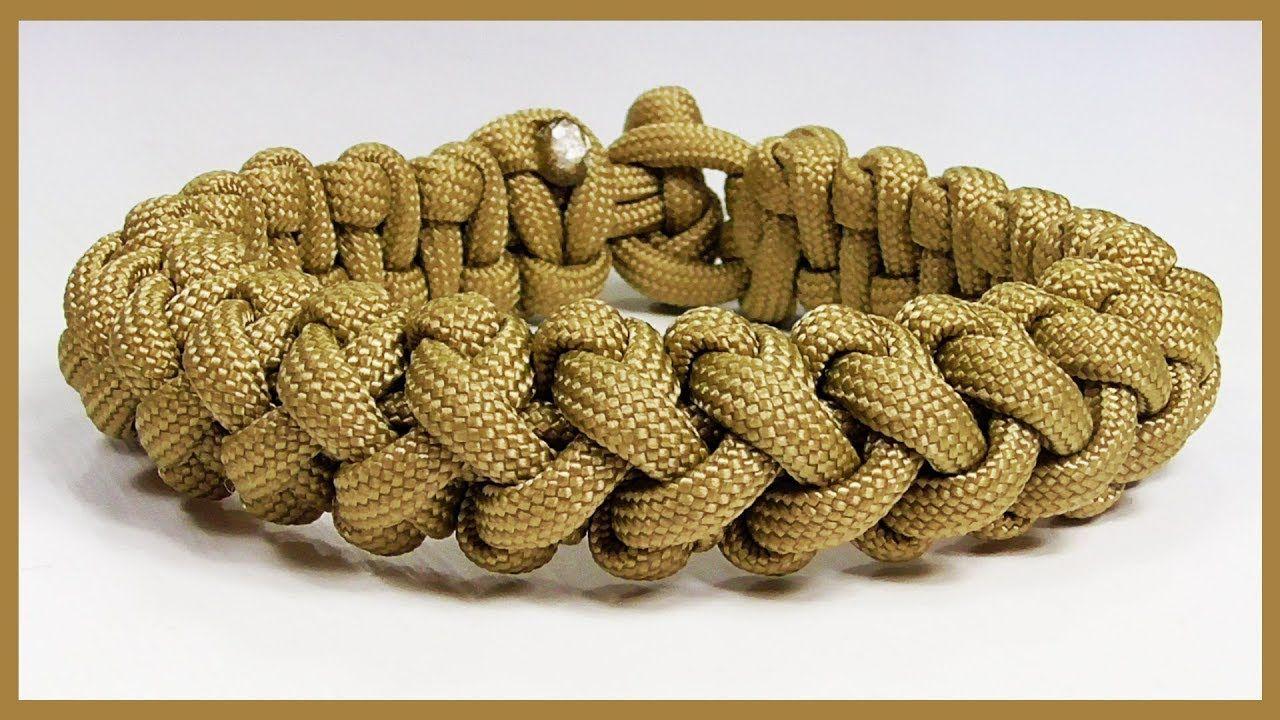 Paracord Bracelet Tutorial Solomon S Turks Head Bracelet Design