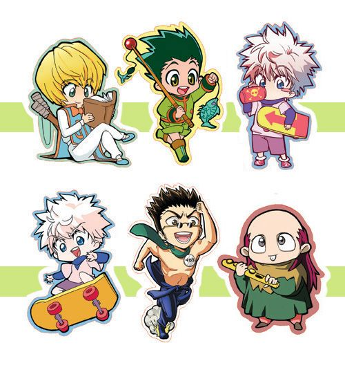 HxH Charms, 2-inch, White Acrylic, Single-sided.  If you are buying 2+ characters, please type in the comments which ones you want! <3  2 charms $18 3 charms $26 4 charms $32  Each one comes with a lobster claw charm strap~
