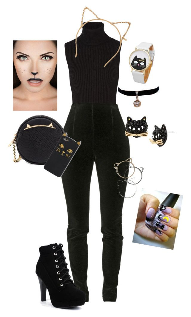 """Hallooween Costume"" by clarianalima ❤ liked on Polyvore featuring art"