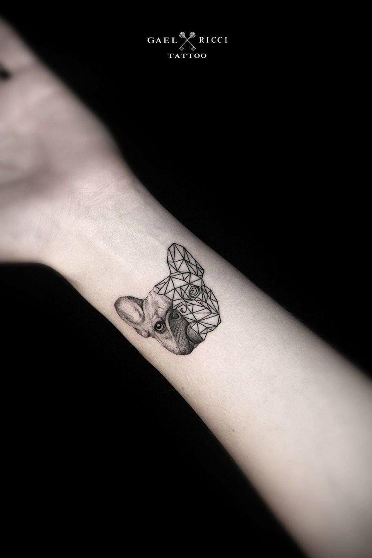 9c661f538 Pin by ตั๋วว ชิวปริ๊วว on Tattoos | Bulldog tattoo, French bulldog ...