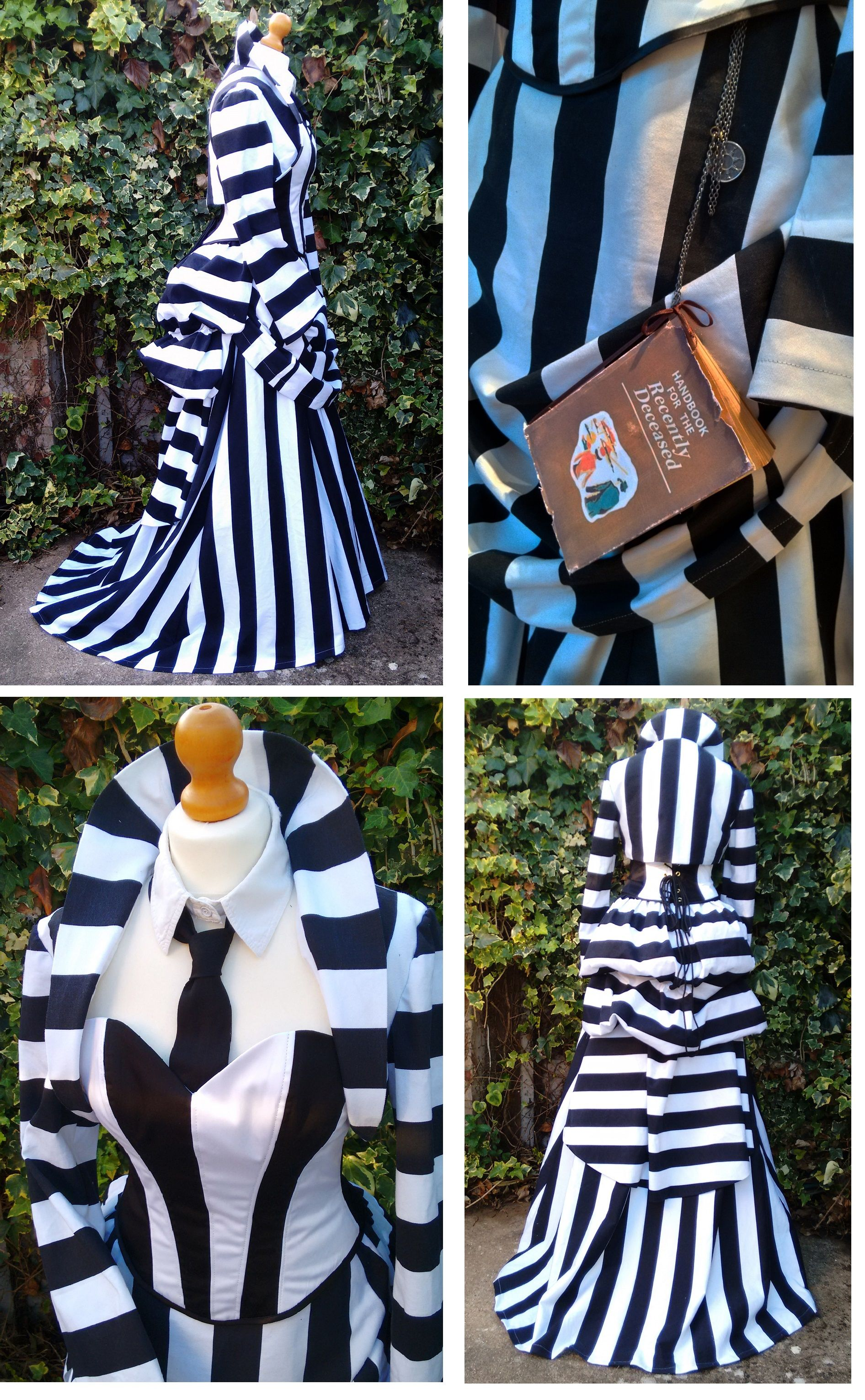 So Say It Once Say It Twice Three Times A Charm Steampunk Beetlejuice Betelgeuse Costume T With Images Beetlejuice Costume Beetlejuice Dress Beetlejuice Halloween