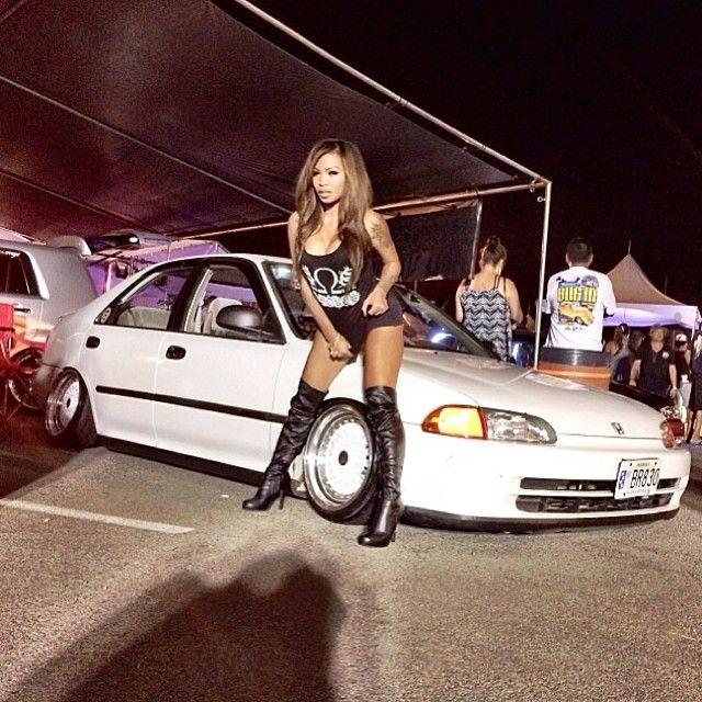 Honda crx girls