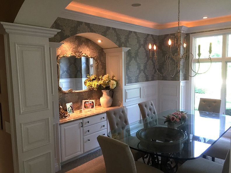 Pin by S&S Homes on Interiors - Wainscot a specialized way ...