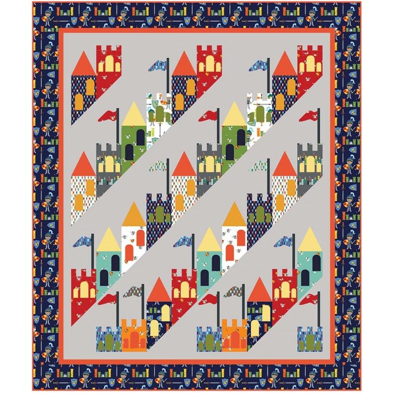 Good Knight Quilt by Heidi Pridemore /65 | quilts | Pinterest