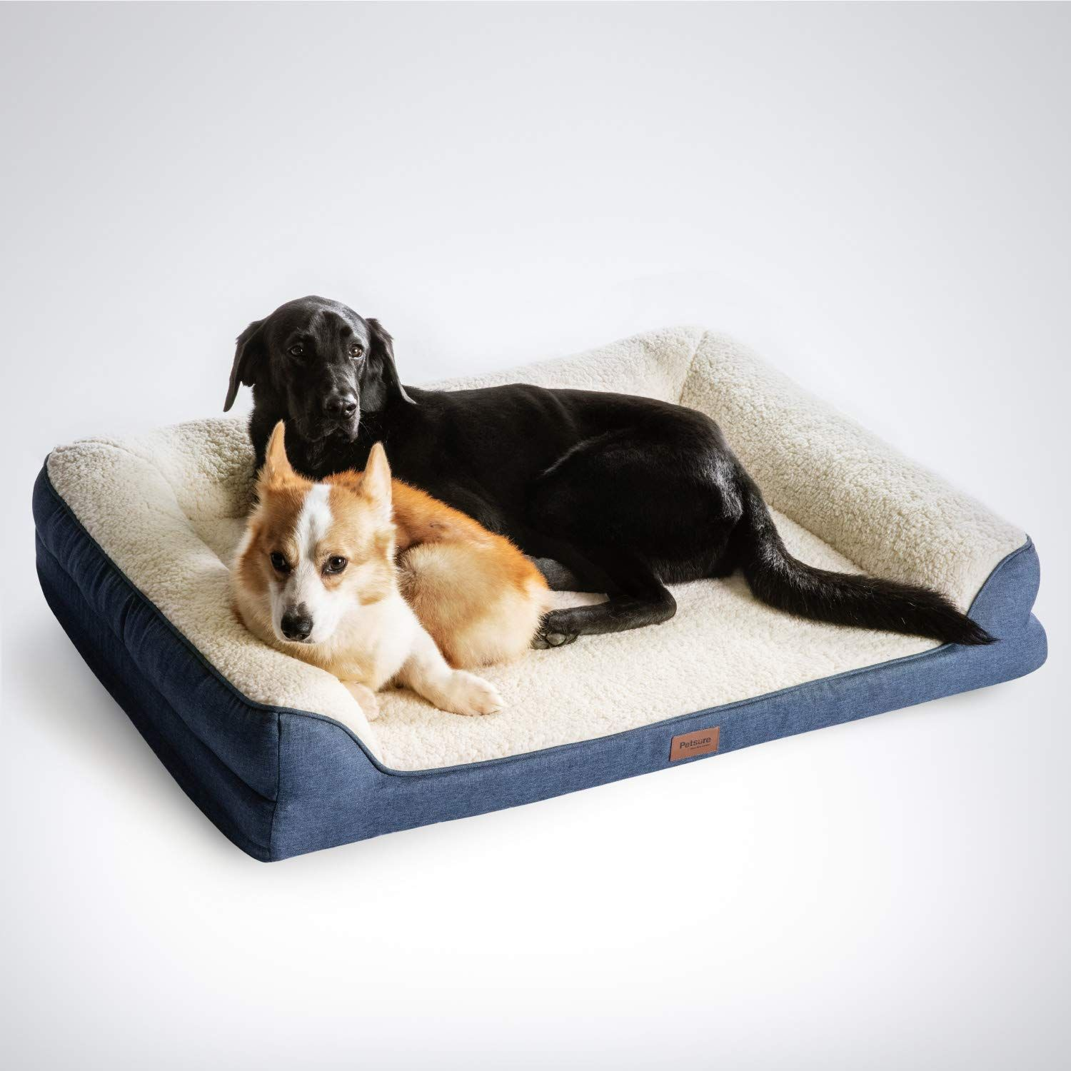 Petsure 28 36 45 Orthopedic Memory Foam Dog Bed For Small