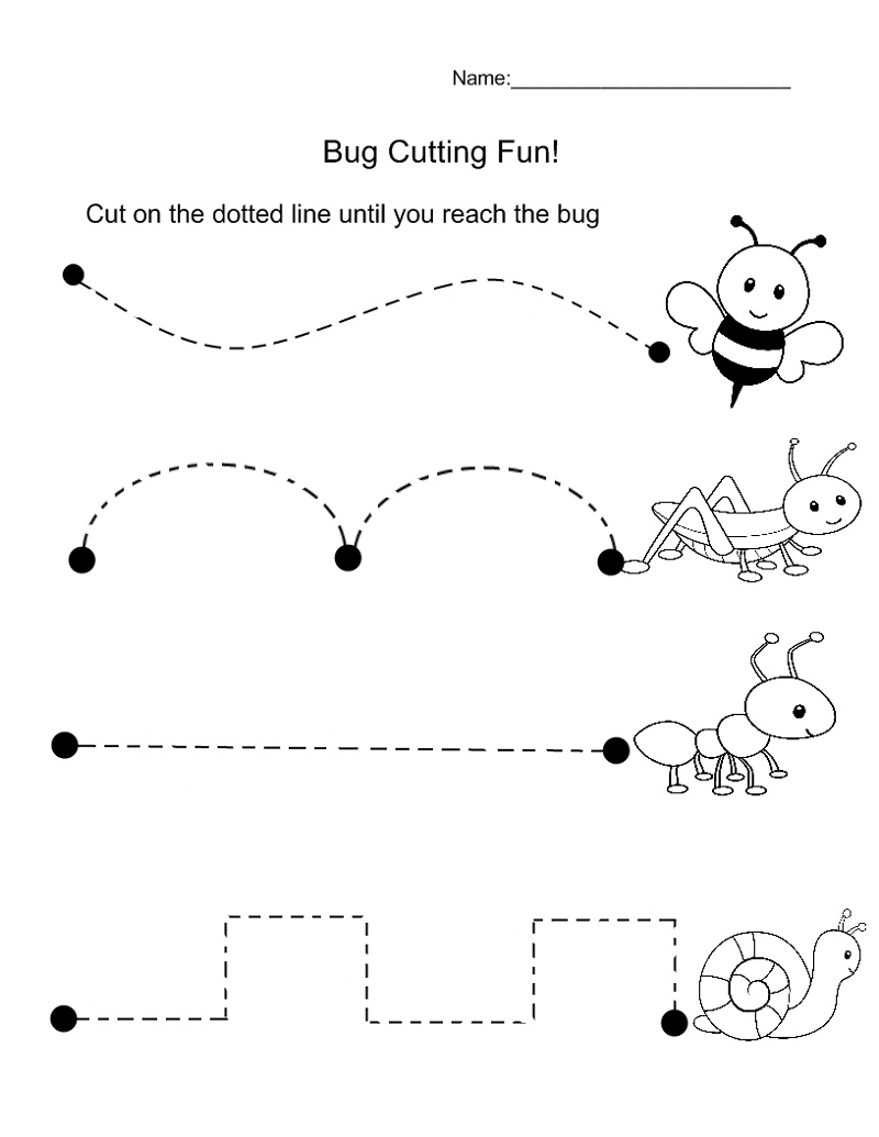 Educational Worksheets For Preschoolers Preschool