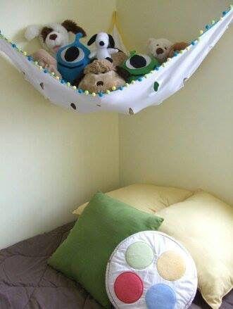 Rede decorativa para bichinhos de pelúcia sweetmama.com.br | SWEET ...